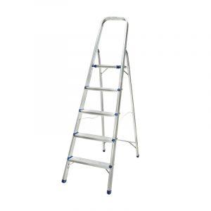 echelle en aluminium, echelle 5 marche, 5 step ladder,